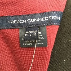 French Connection Dresses - French Connection Burgundy Dress